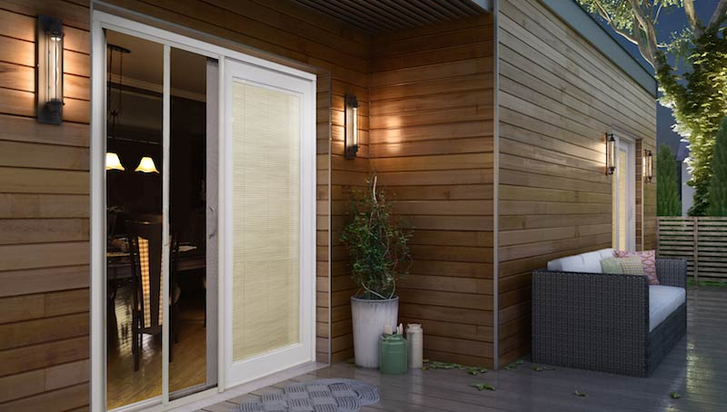 Novavision novascreen patio door for Porte exterieur bmr